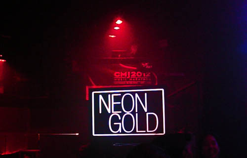 CMJ 2012: Neon Gold Showcase Shines